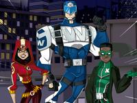 Super Heroes Office