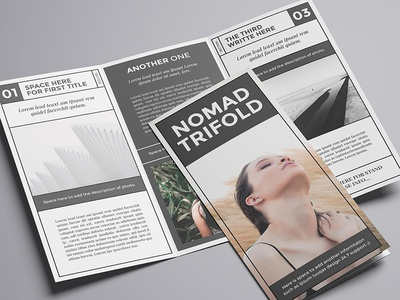 Nomad A4 Trifold Brochure