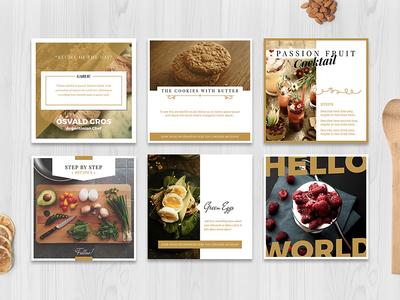 Food Social Media Pack