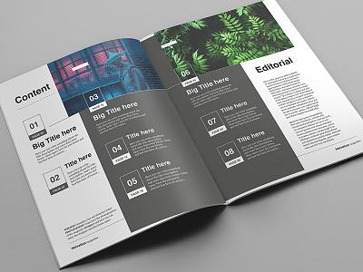 Helvetica Magazine Indesign Template porfolio multipurpose pdf pages design digital print brochure template indesign magazine editorial