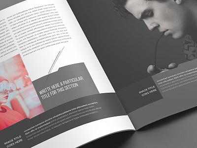 Experiment Indesign Template magazine design style modern pdf architecture urban digital print brochure editorial template indesign template indesign magazine