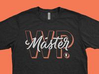 MasterWP Tshirt Design