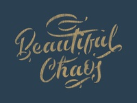 Beautiful Chaos Stencil