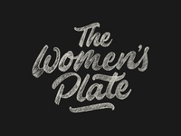 The Women's Plate Sketch