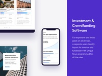 Investment & Crowdfunding Software