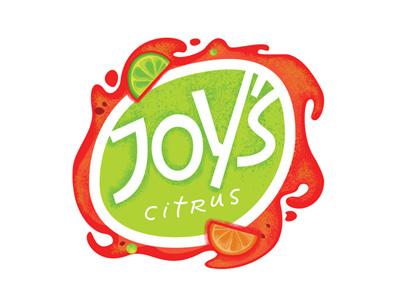 Joy's concept illustration lettering lable sketch logo