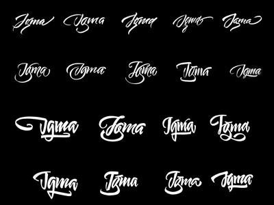 Igma / sketch sketch vikavita logo lettering