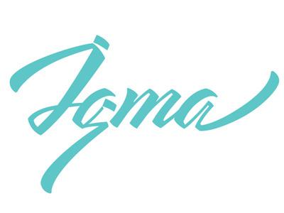 Igma / final logo adobe illustrator lettering vikavita