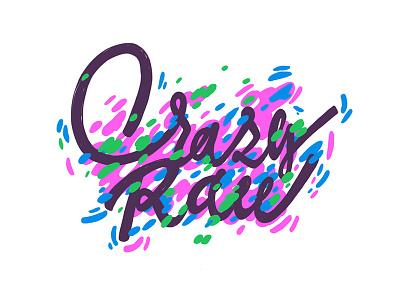 Crazy Raw design typedesign type vikavita lettering logo