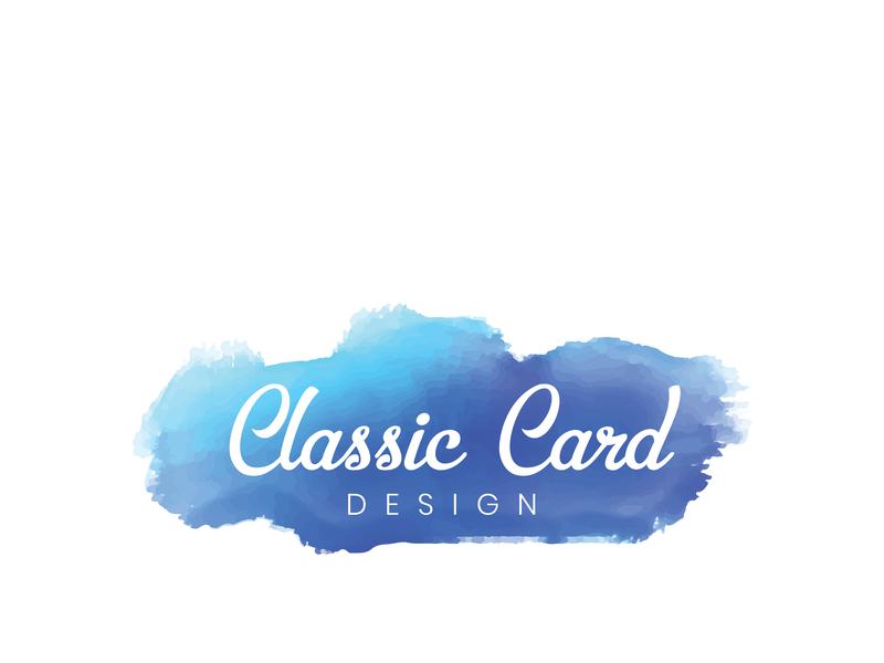 Classic Card Design minimalist logo illustration logo design logo