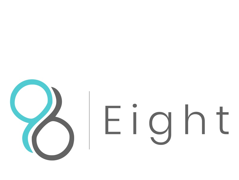 Eight Logo eight logo 8 logo logo logo design typography minimalist logo eight 8