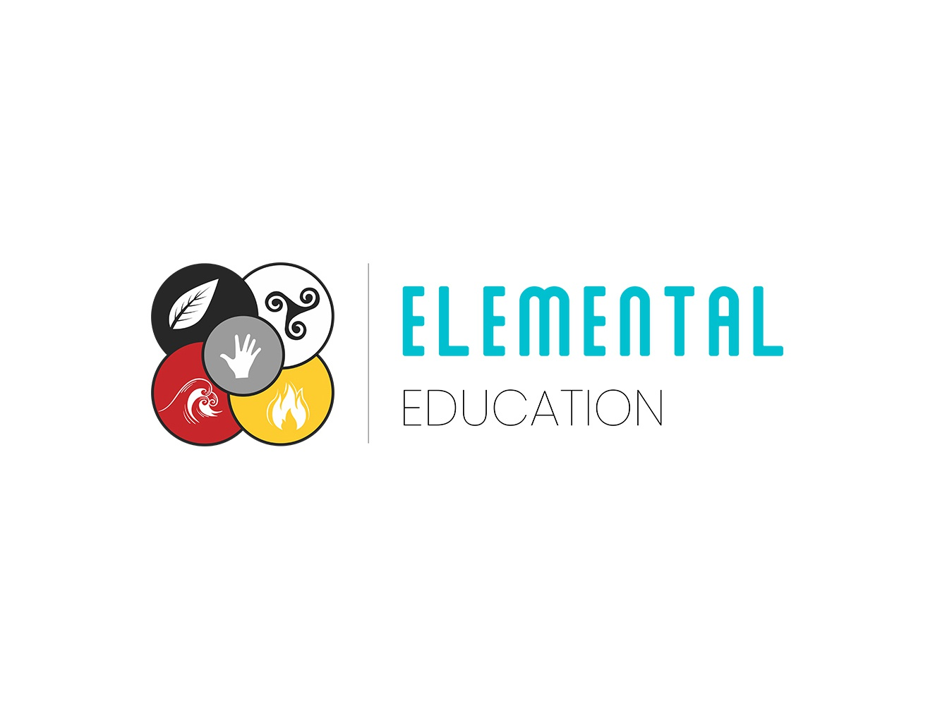 Elemental Education education clean minimal flat minimalist logo logo design logo