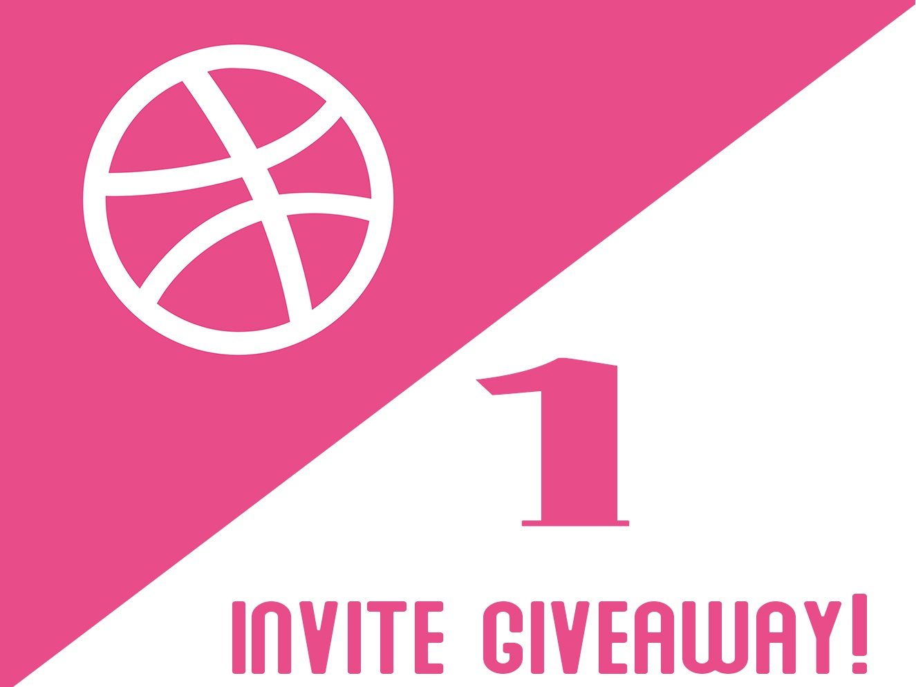 Dribbble Invites shot new user players invite giveaway dribbble 1 invite