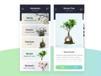Plant Shop — App Concept