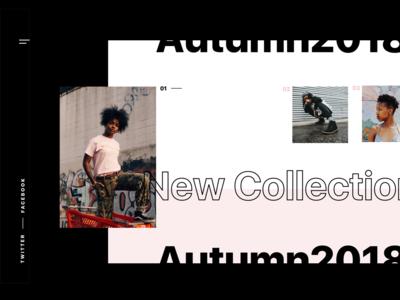 Fashion web site