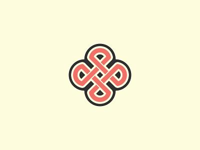 Mark exploration knot icon branding logo mark