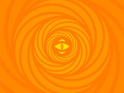 The Eye geometry geometric mark sun eye abstract logo icon branding
