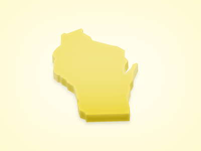 Wisconsin cheese state small