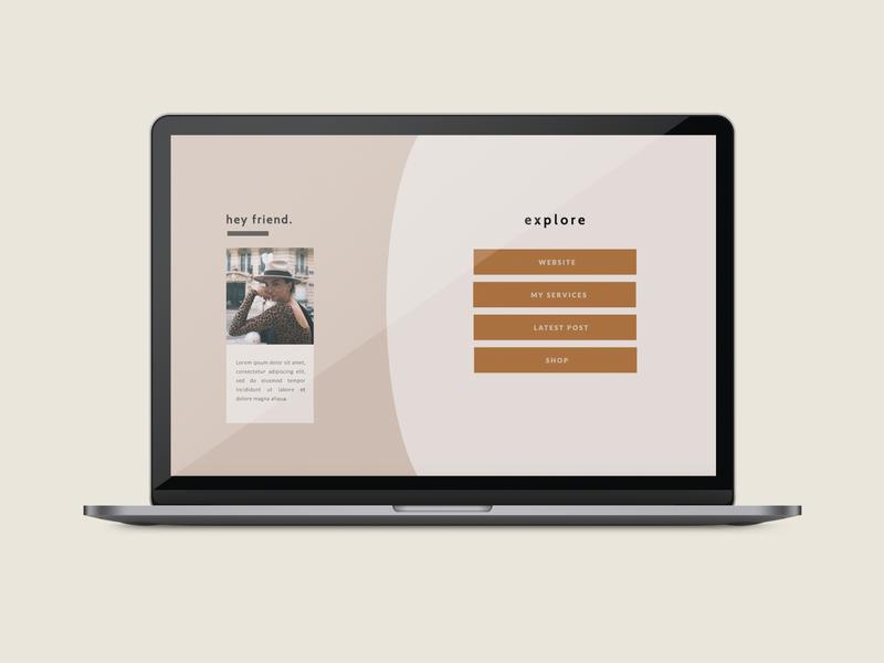 Nix Instagram Landing Page Template - Showit landing page showit showit template web design