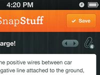 SnapStuff iPhone App