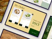Royal Hotel roomservice iPad app order roomservice restaurant hotel ipad app design food ios
