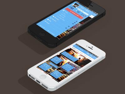 Event Sharing app iPhone
