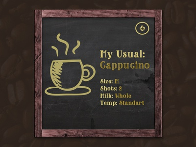 Part of Coffee App
