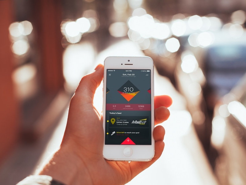 Fitnesstime app fitness app ux ui app ios calorie tracking workout gym fitness