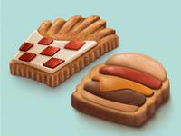 Food Cookies Round 2