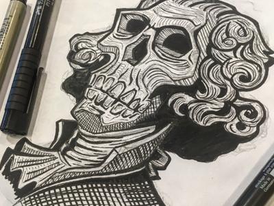 Washington skull