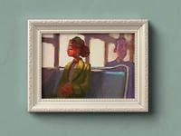 Rosa Parks Color Sketch