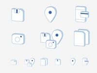 Icons set part 2