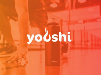 Youshi Logo Design branding vector typography design logo minimal logo design fire flame