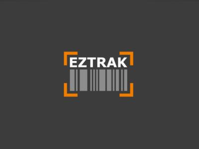 Eztrak Logo barcode design vector minimal logo design software branding
