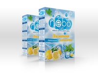 Package Box of Powder with aroma of the Lemon for Nebo