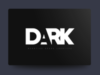 Dark - Negative Space Logotype