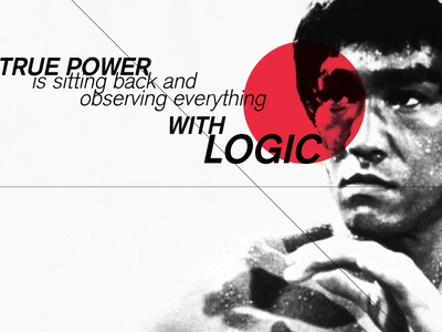 Bruce Lee quote bruce lee quote typography