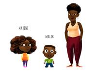Maxine & family