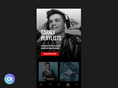 Music Concept app dailymatter native applymatter apply playlist tool design android ios mobile app music