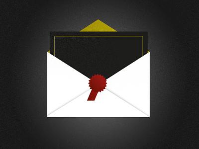 Invitation illustration vector wip