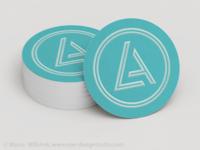 LA Circle Card