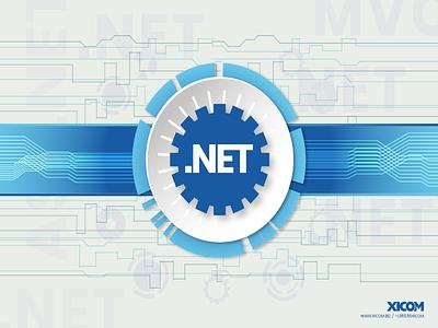 Microsoft dot net Banner design .net development microsoft dotnet dot net