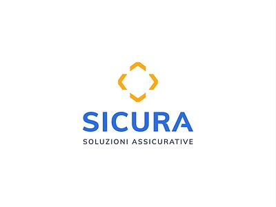 Sicura logo branding design mono.studio mono minimal logos animate animation branding brand identity symbol logotype logo brand