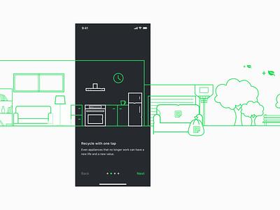 Togenesis App Walkthrough vector typography branding logo illustration ui interaction startup minimal app design app walkthrough
