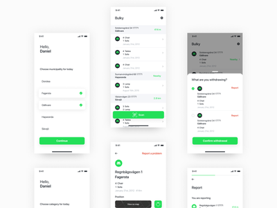 Togenesis Driver App ios togenesis ui typography interface app ux layout design mono startup interaction
