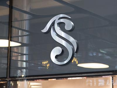 T.S Logo Design graphic t.slogo t.slogo fashion logo design logo branding