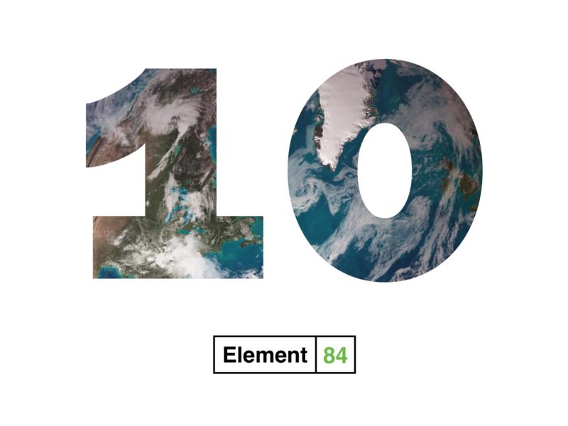 Happy 10th Birthday! earth 10th birthday e84 ten