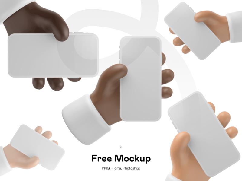 Free 3D iPhone Mockup freebies freebee freebie mockups 3d figma 3d illustration 3d illu figma template free mockup mockup template mockup design figma mockup psd mockup illustration