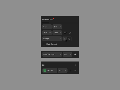 🛠 tracking soon new motion graphics graphic design vector huseyin tool experience artboard properties editor dark ui design tool animation app interface design ux ui