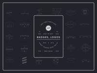 Modern & Vintage Badge, Logos
